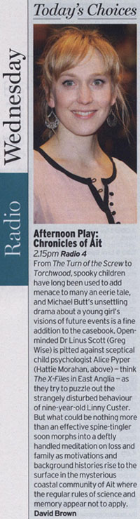 Radio Times - Chronicles Of Ait (David Brown)