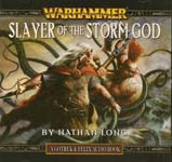 Fantasy Audiobook: Warhammer: Slayer of the Storm God by Nathan Long