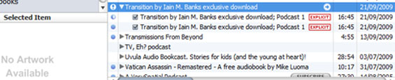 iTunes - Transition by Iain M. Banks