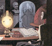 a panel from The League Of Extraordinary Gentlemen
