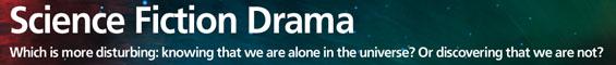 Science Fiction Drama (on BBC Radio 3, 4 and 7)
