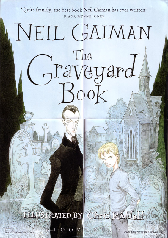The Graveyard Book Signed Poster OBVERSE