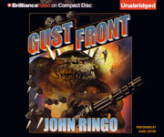 BRILLIANCE AUDIO - Gust Front by John Ringo