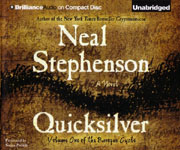 BRILLIANCE AUDIO Quicksilver by Neal Stephenson