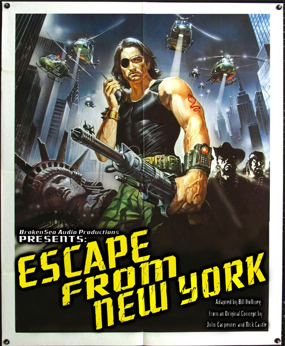 BrokenSea Audio Productions - Escape From New York
