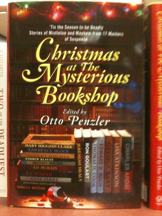 Christmas At The Mysterious Bookshop edited by Otto Penzler