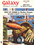 GALAXY Science Fiction Magazine - July 1956