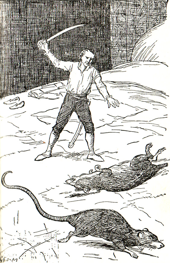 From Chapter 1 - A Voyage To Brobdingnag (Gulliver's Travels) illustrated by George Morrow