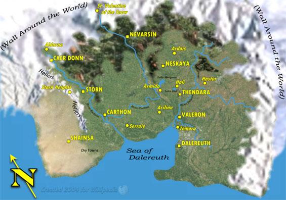 Map Of Darkover