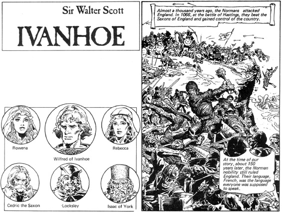 POCKET CLASSICS - Ivanhoe Pages 6 and 7