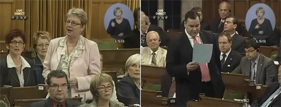 Question Period - Carole Lavallée and James Moore - June 14th 2010