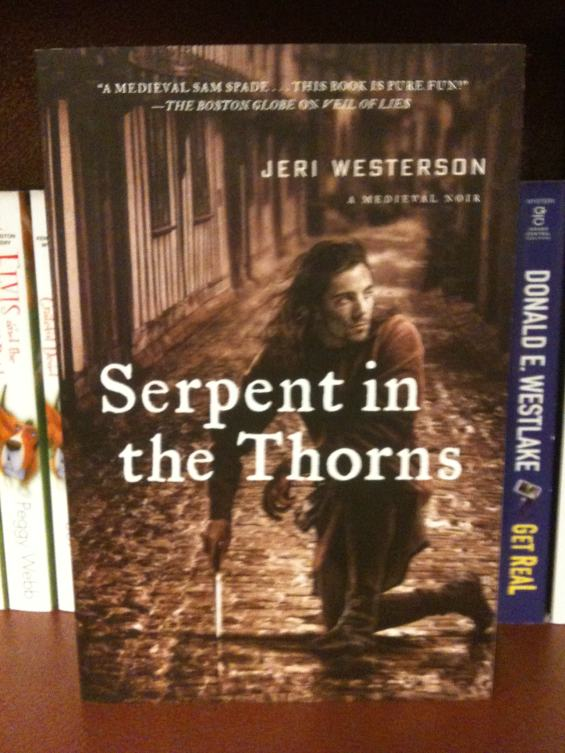 Serpent In The Thorns: A Medieval Noir by Jeri Westerson