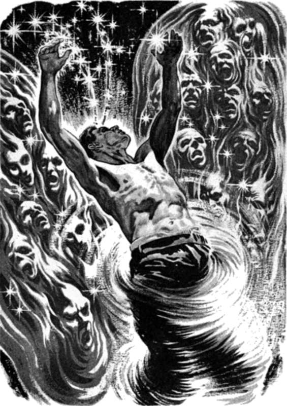 The Big Time by Fritz Leiber - Illustrated by Virgil Finlay
