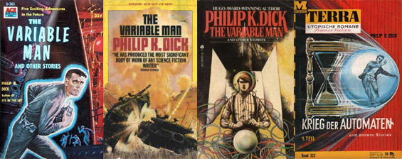 The Variable Man by Philip K. Dick - Covers