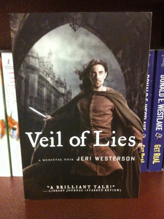 Veil Of Lies: A Medieval Noir by Jeri Westerson
