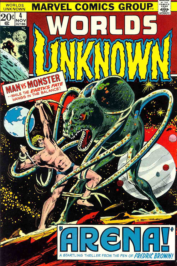 Marvel Comics - Worlds Unknown - Issue 4 - Arena by Fredric Brown