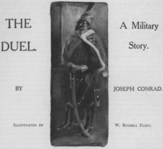 The Duel by Joseph Conrad - Illustrated by William Russell Flint