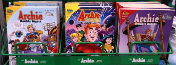 Archie Comics with and without the Comics Code Authority