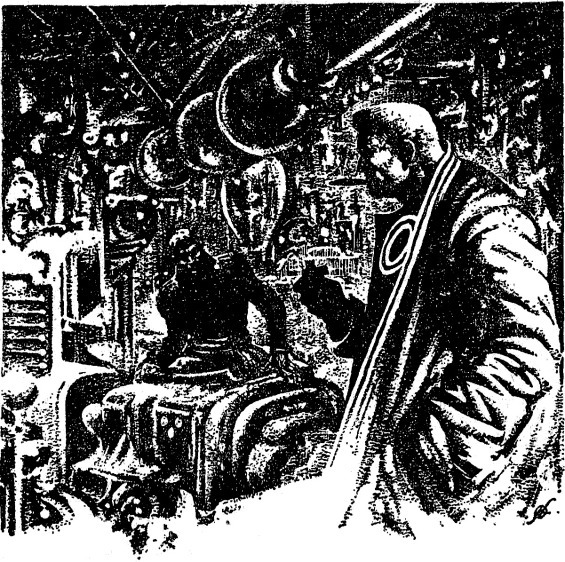 Astounding Science Fiction - Call Me Joe - page 18 illustration