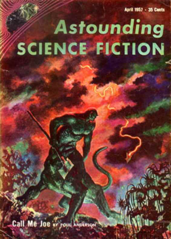 Astounding Science Fiction - April 1957