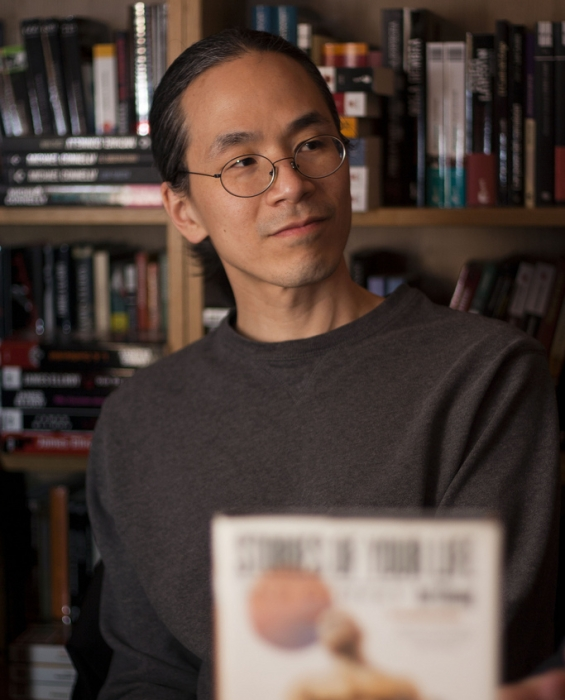 Ted Chiang (portrait by Arturo Villarrubia)