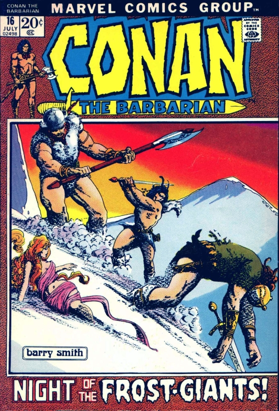 Conan The Barbarian - Night Of The Frost Giants