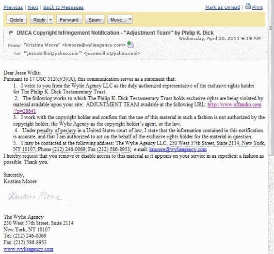 DMCA Notice