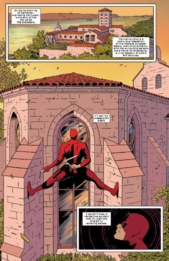 Daredevil - Issue One, Page One