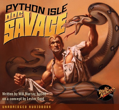 Science Fiction Audiobook - Doc Savage - Python Isle by Will Murray