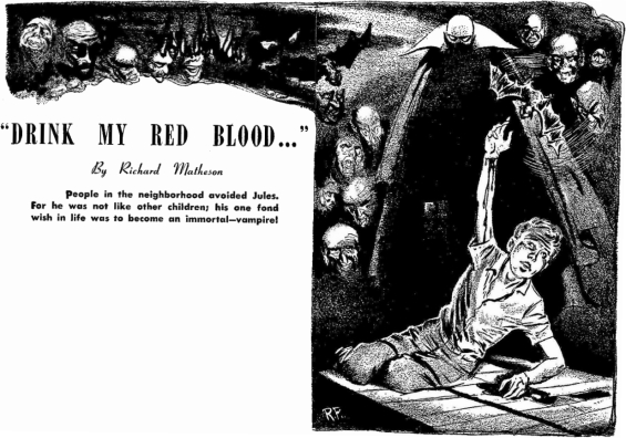 Drink My Red Blood by Richard Matheson
