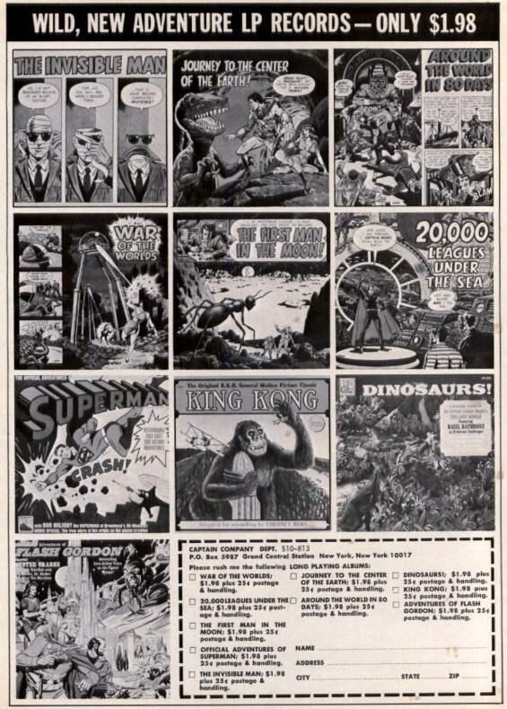 EERIE 1968 - Wild New Adventure LPs