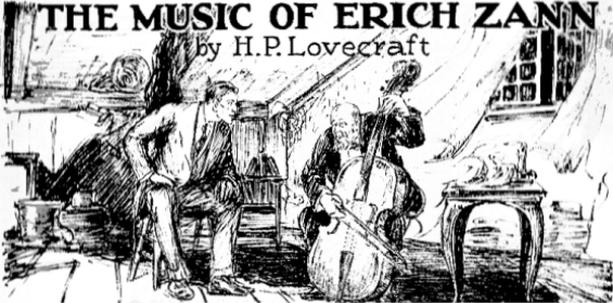 The Music Of Erich Zann - illustration by Andrew Brosnatch