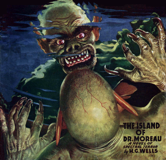 Famous Fantastic Mysteries - THE ISLAND OF DOCTOR MOREAU