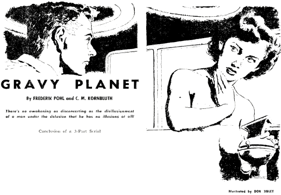 Gravy Planet illustrations by Don Sibley