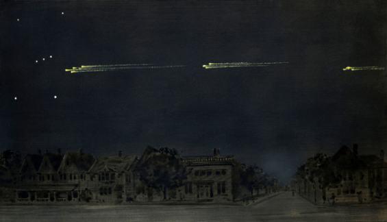 Meteoric Display of February 9, 1913 by Gustav Hahn