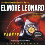 HARPER AUDIO - Pronto by Elmore Leonard