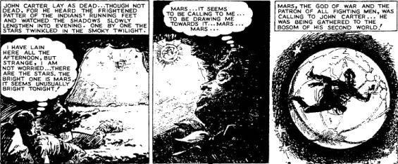 How John Carter got to Mars