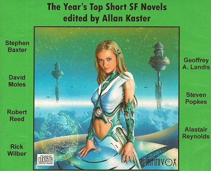 Science Fiction Audiobook - The Year's Top Short SF Novels edited by Allan Kaster
