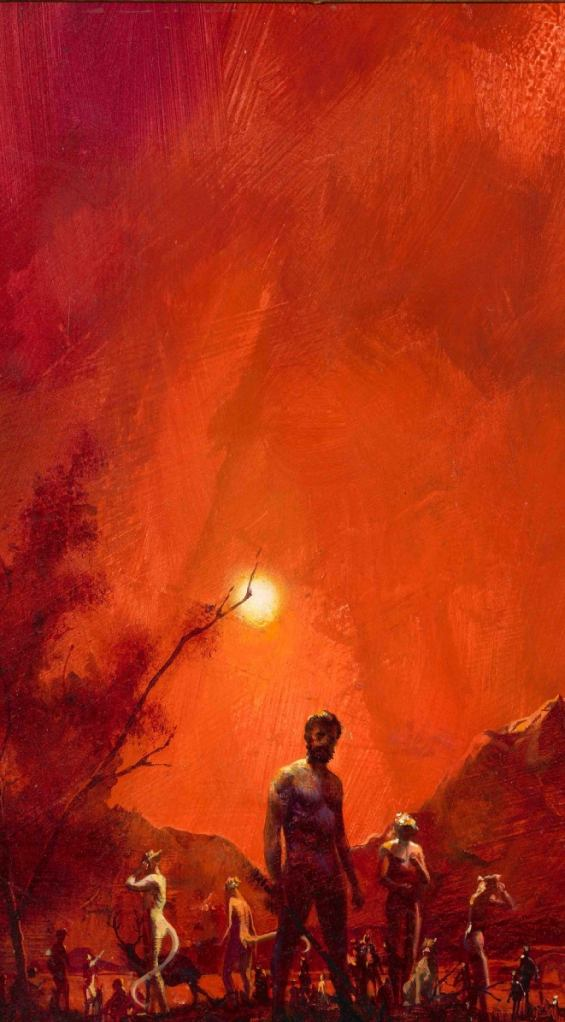 The Island Of Dr. Moreau - Cover illustration by Paul Lehr