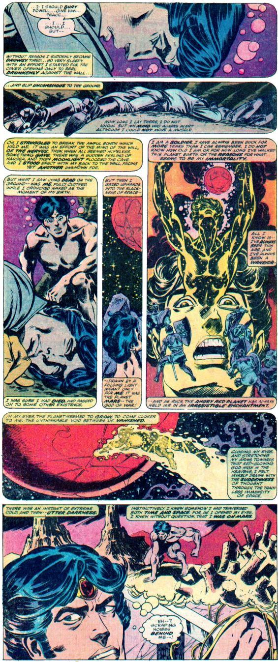 John Carter Warlord Of Mars - Eight Panel Explanation