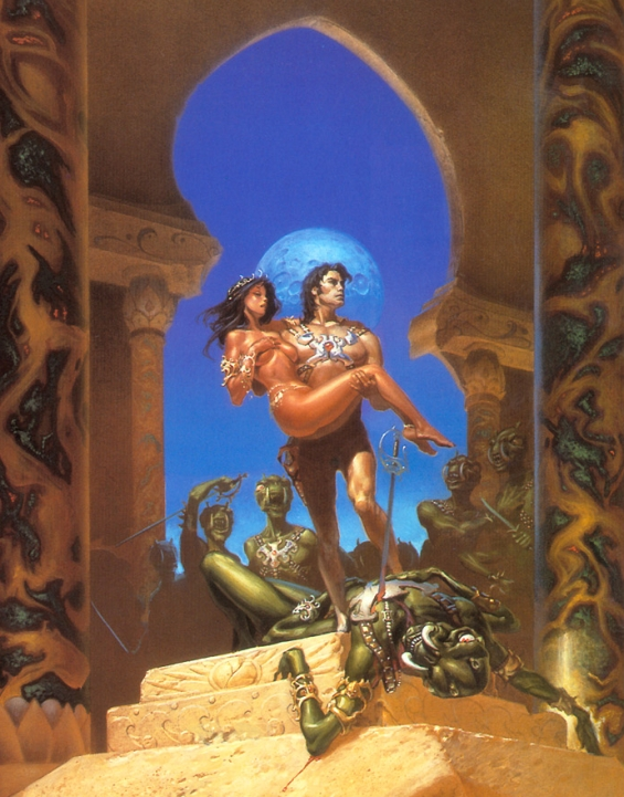 Michael Whelan - A Princess Of Mars