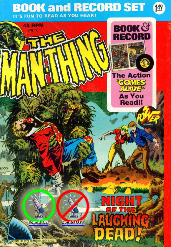 Power Records #16 - Man-Thing - Night Of The Laughing Dead
