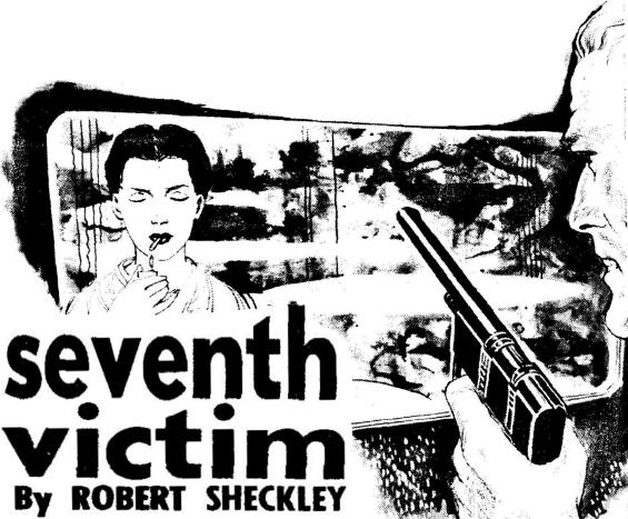 Seventh Victim by Robert Sheckley