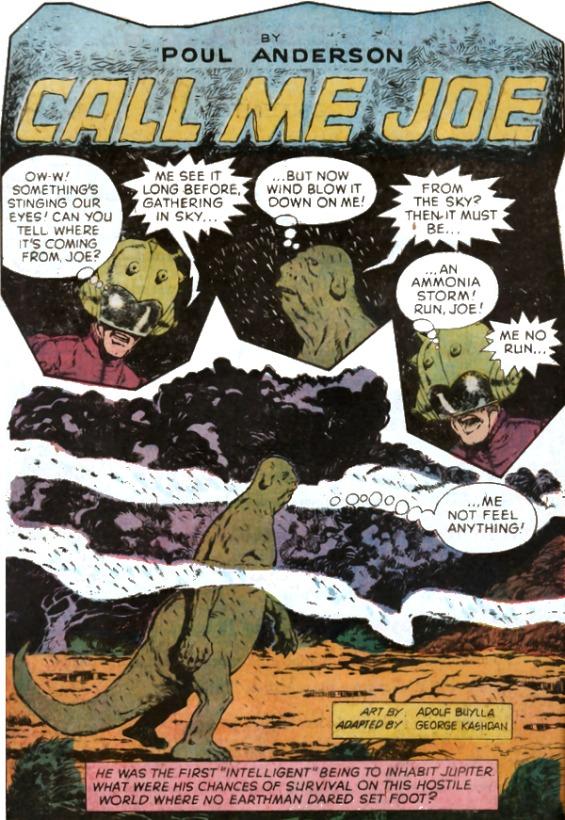 Starstream comics adaptation of Call Me Joe