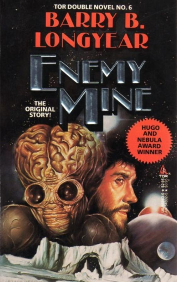 TOR DOUBLE #6 - Enemy Mine by Barry B. Longyear