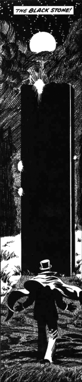 Robert E. Howard's The Black Stone - art by Gene Day