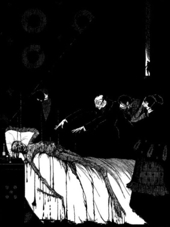 The Facts In The Case Of M. Valdemar - illustrated by Harry Clarke