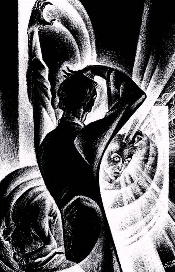 The Horla - illustration by Lynd Ward
