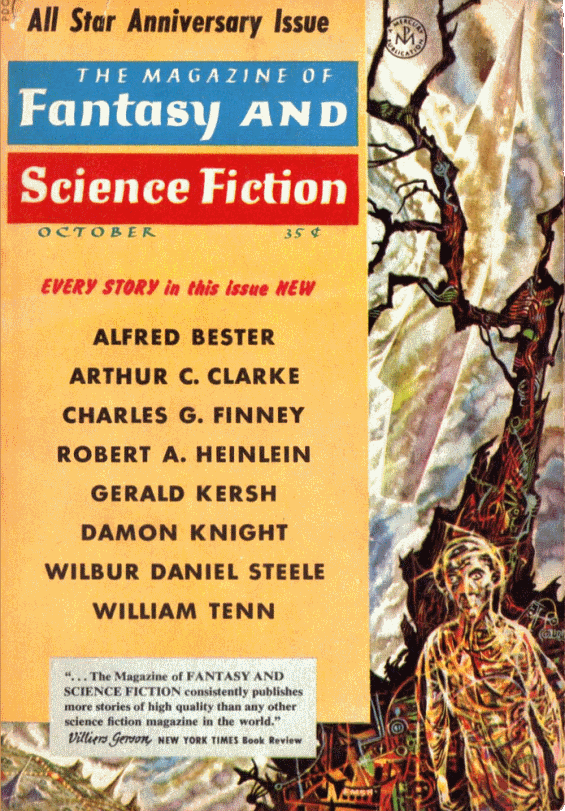 The Magazine Of Fantasy And Science Fiction - October1958