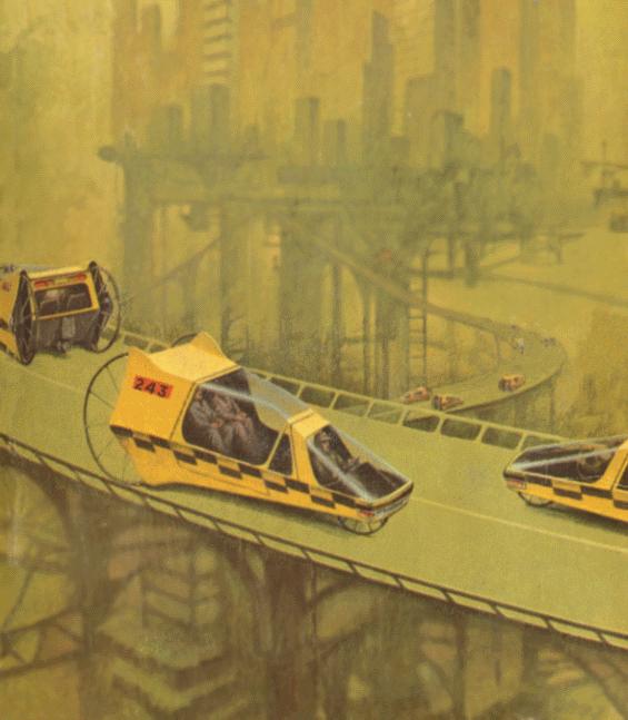 Ballantine Paperback - The Space Merchants - detail